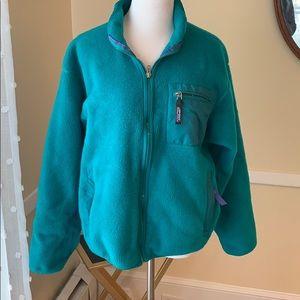Patagonia Women's Fleece Jacket Size 12 in EUC